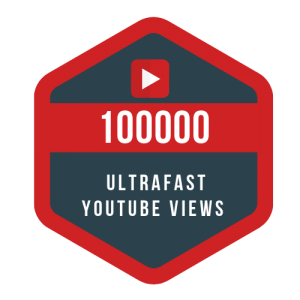 1 lac ultrafast youtube views