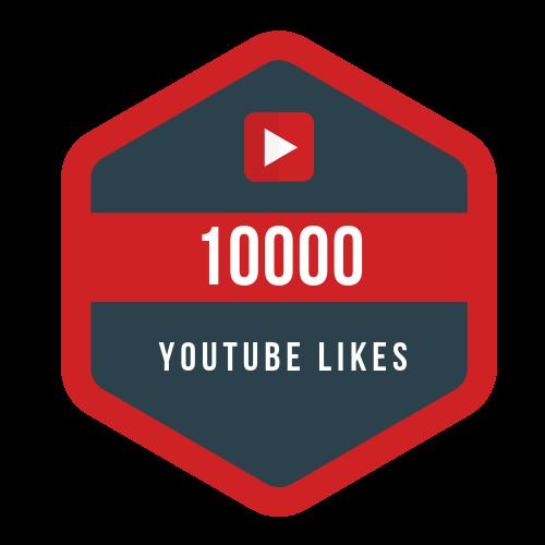 10000 youtube likes