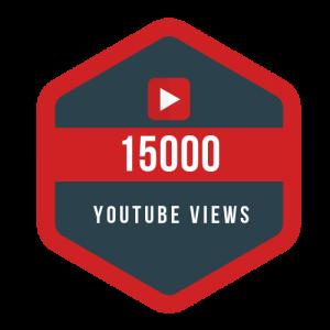 15k youtube views