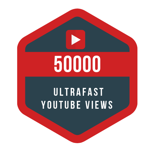 50k ultrafast youtube views